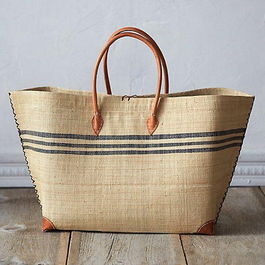 Raffia Beach Bag Bags More