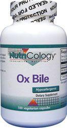 ox bile salts supplement