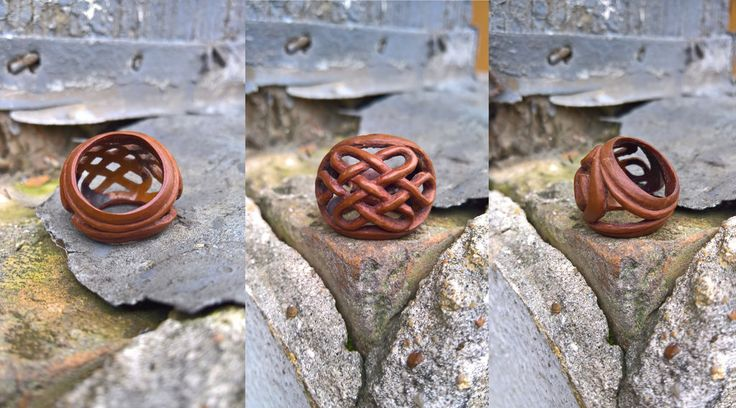 Endless knot macadamia ring by Belgamo.deviantart.com on @DeviantArt