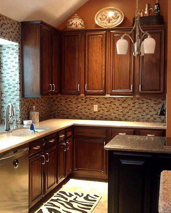 Design In Wood What To Do With Oak Cabinets: 12 Best Kitchens With Oak Cabinets. Images On Pinterest