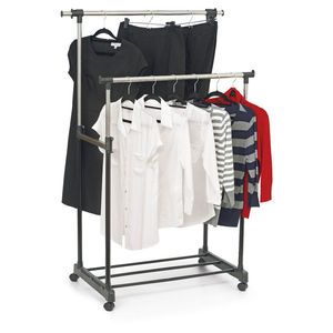 clothes garment racks stainless steel shower caddies hangers wheels