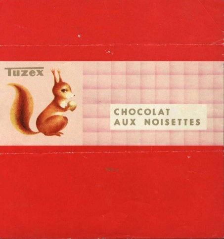 Chocolate wrapper, Czechoslovakia