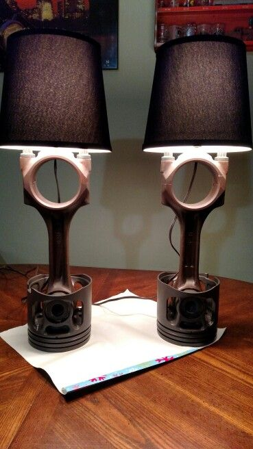 Tractor Bedside Lamp : Best images about repurposed automotive on pinterest