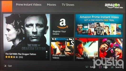 Amazon Video app on PS3