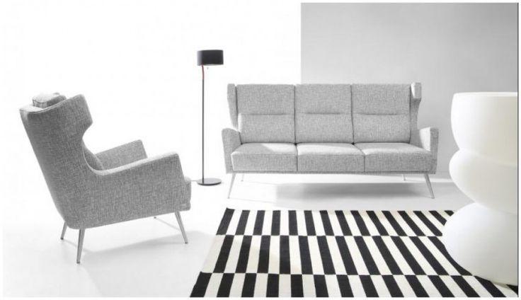Sofa SIGNO firmy Bizzarto. Luksusowa i nowoczesna forma ze szczyptą stylu retro. http://www.mega-meble.pl/produkt-Sofa_SIGNO-2356