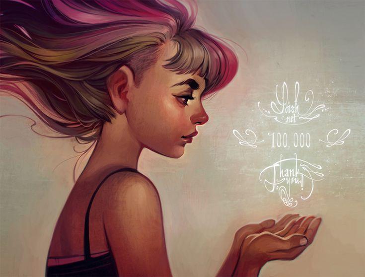 La ilustración coqueta de Loish | OLDSKULL.NET