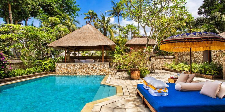Royal Villa Swimming Pool - The Oberoi, Bali