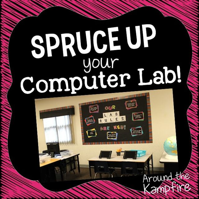 Spruce up your computer lab!