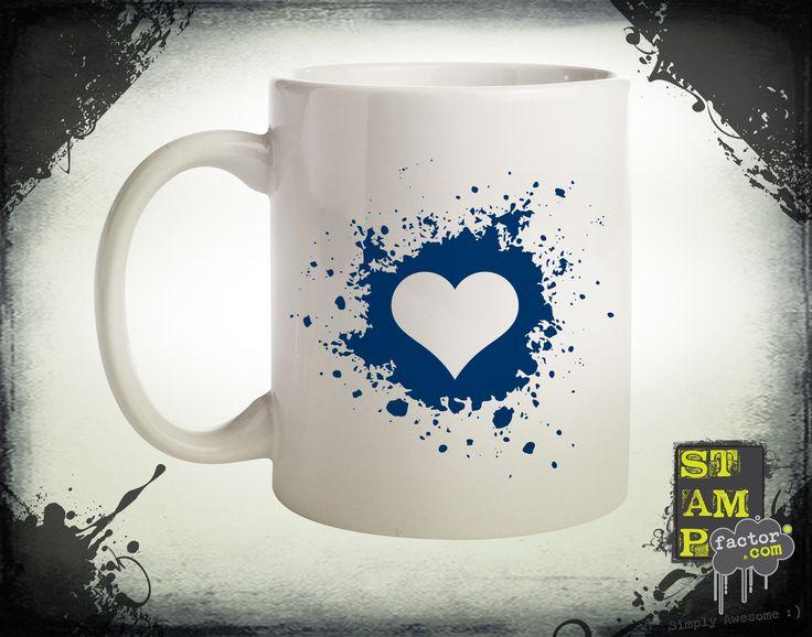 My Valentine (Dark Midnight Blue) 2014 Collection - © stampfactor.com *MUG PREVIEW*
