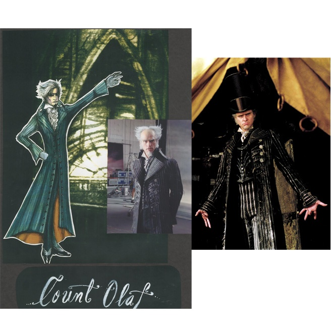 Colleen Atwood - Costume for Lemony Snicket's A Series of Unfortunate Events