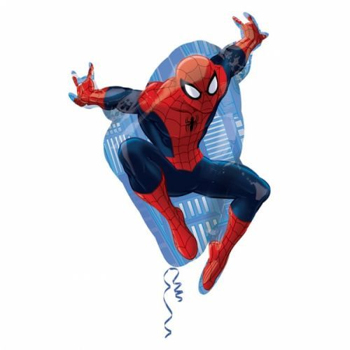 A Swinging Birthday Calls For Our Giant Spiderman Balloon! Giant Spiderman  Balloon Measures X And Is A Heroic Addition To A Spiderman Party.