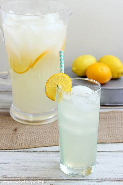Perfect Lemonade - Is there a more cool and refreshing drink when the weather warms up?! This lemonade has the perfect balance of sweet and tart. Serve it up at your next get-together! #lemons #lemonade #beverage by lovebakesgoodcakes, via Flickr