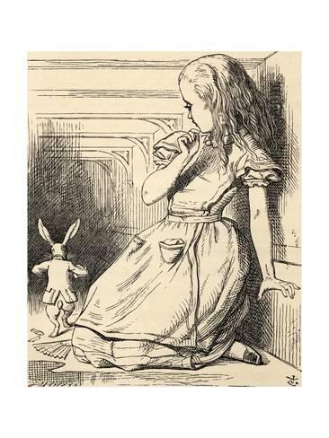 алиса в стране чудес викторианская эпоха открытки нить свободно