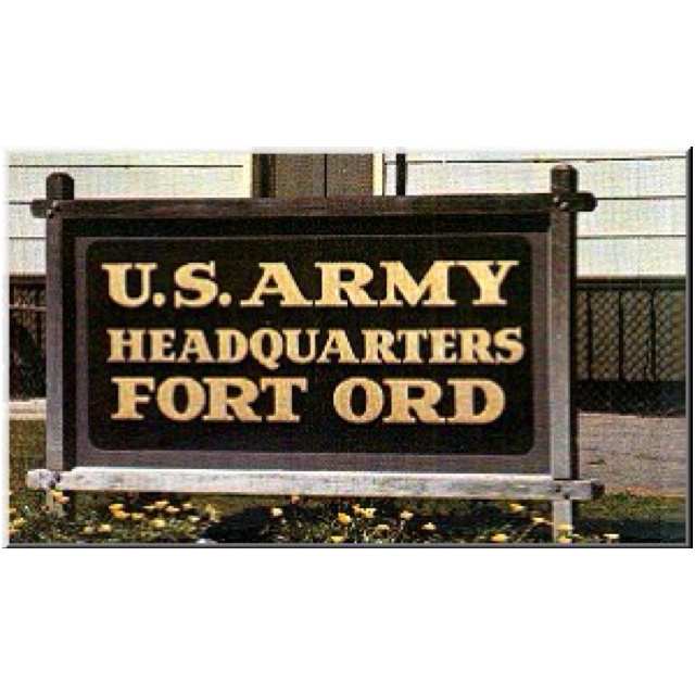 First Us Army Base I Was Assigned To
