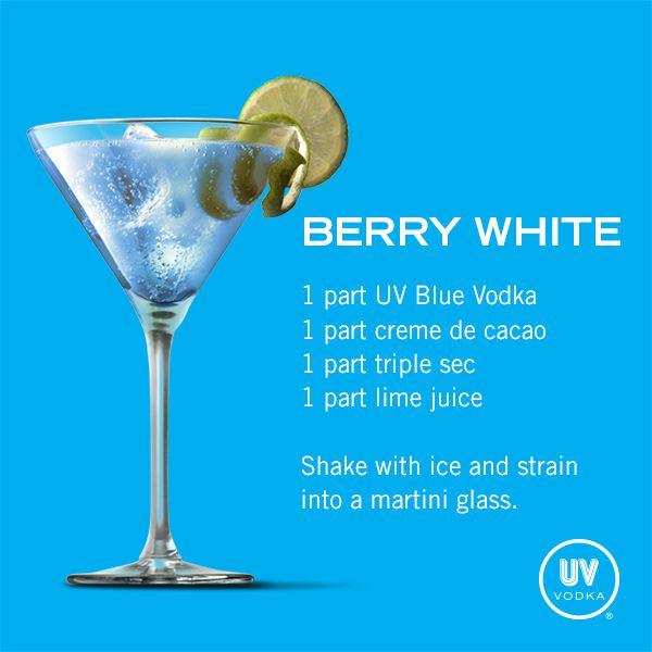 UV Vodka Recipe: Berry White