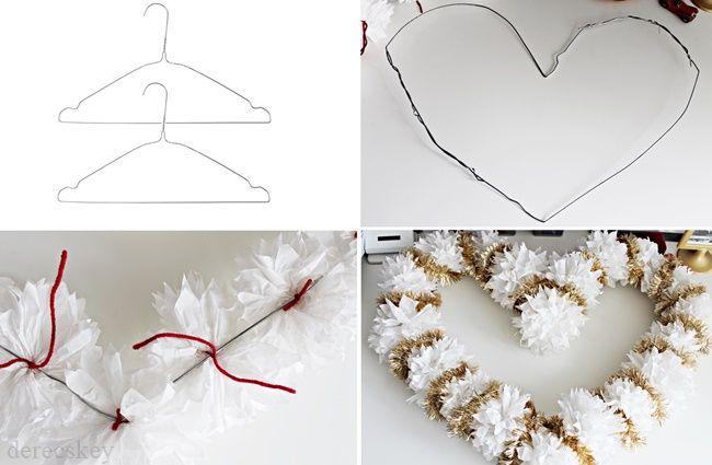 derecskey: Szívecske formájú karácsonyi dekoráció