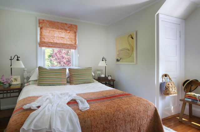 eclectic country small bedroom decorating | Eclectic Bedroom by Nat Rea Photography.