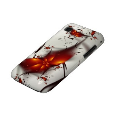 Fire Flowers & Ashes Abstract Fractal Samsung Galaxy S Case $37.05