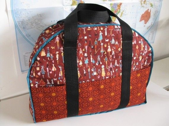 Travel Bag / Carry-On Case - PDF Pattern on Etsy,!! This bag is awesome so handy on trips !!