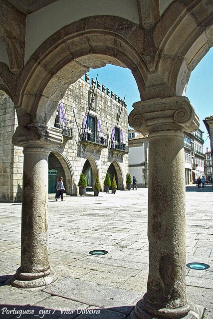 Cloisters of an ancient hospital in Viana do Castelo - #Portugal