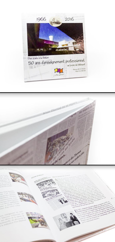 Livre contrecollé carré en 21x21cm / Couverture quadri sur Couché Satiné 150gr + pelliculage Brillant sur carton 20/10ème / Intérieur quadri sur Couché Satiné Satiné 150gr #hardcover