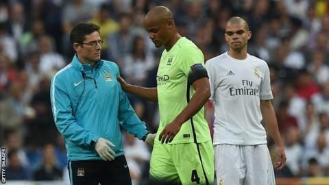 Vincent Kompany: Man City captain to discover fitness for Euro 2016 on Monday - BBC Sport
