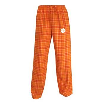 For Rob from me: Clemson Tigers Roster Plaid Flannel Lounge Pants - Men