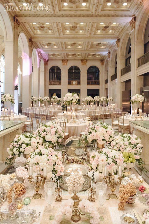 A Classic Blush And Gold Wedding Royal Wedding Themes Wedding