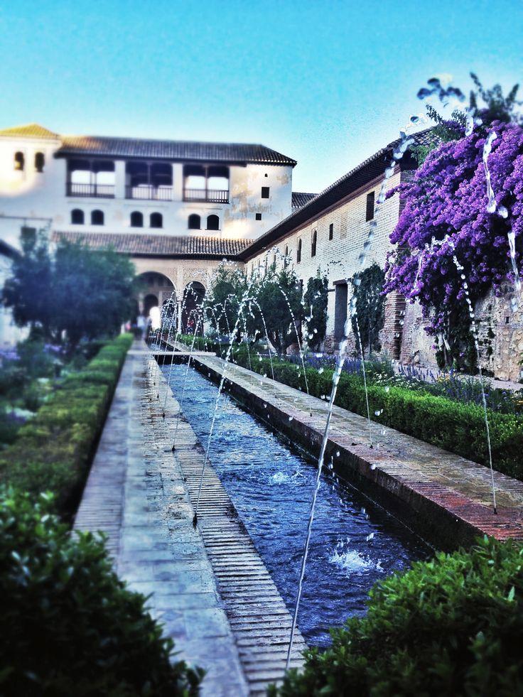 Jardins Generalife, Alhambra de Grenade. © Copyright Yves Philippe