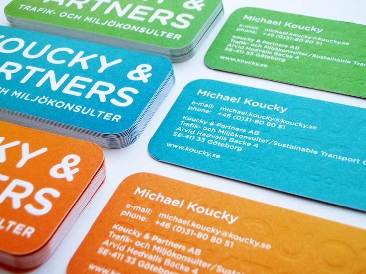 40 best business cards images on pinterest carte de visite visit koucky partners business cards reheart Choice Image