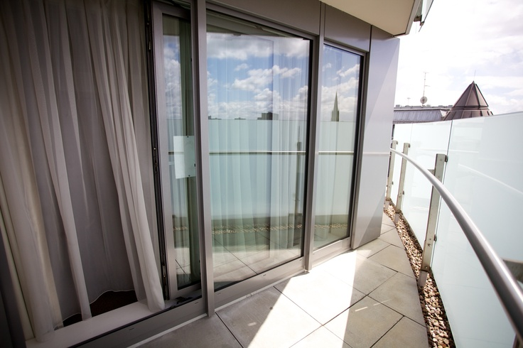 The majority of our apartments have balconies - get some fresh air or simply enjoy sunshine