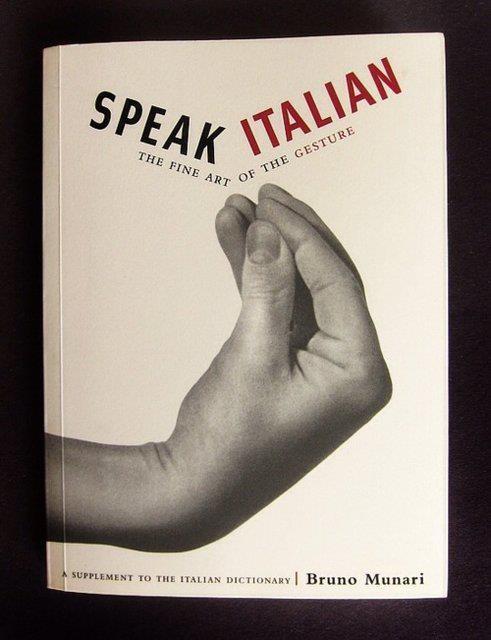 speak italian - bruno munari