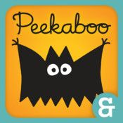 Peekaboo Trick or Treat with Ed Emberley is a great guessing game for very young kids. Silly (and only slightly spooky) creatures trick or treat and it's up to you to guess who's at the door before they are revealed.