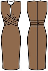 Russian site with numerous illustrations for how to draft various dress designs - Just comparing the designs to the pattern alterations is a great opportunity to learn how different elements are drafted!