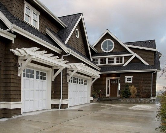 Arbors over garage - by the way we looked at this house it is So beautiful located on Camano Island, WA