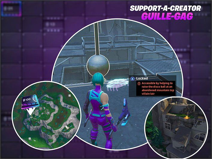 Fortnite Fortbyte 53 Has You Bust A Move To Raise A Disco Ball In