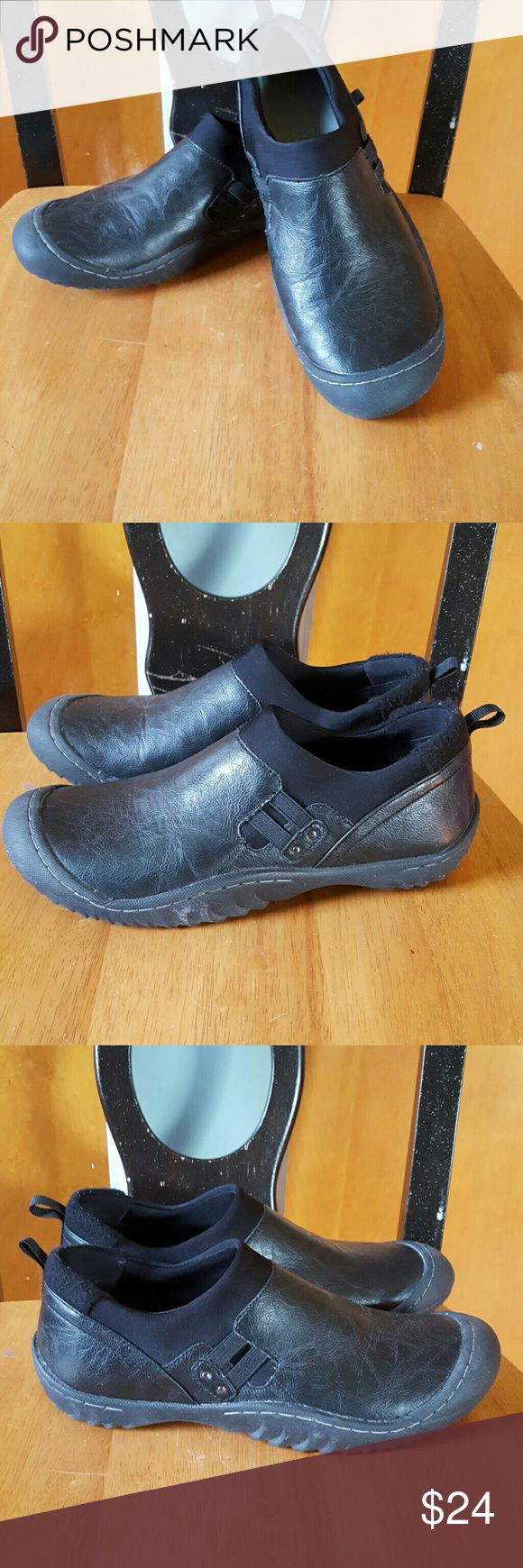 J-41 Jeep Shoes! Great Condition Only Worn Once! These shoes feature a cushioning inside sole with a Jeep Engineered Traction sole on the outside as pictured! Along with the bottom sole being made with partially recycled rubber helping the planet!?? Awesome shoes to just slip on and go!! Jeep Shoes