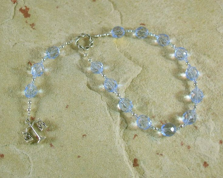Aequitas Pocket Prayer Beads: Roman Goddess of Equality and Fair Dealing
