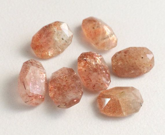 Sunstone Stone Sunstone Faceted Gemstones Fancy by gemsforjewels