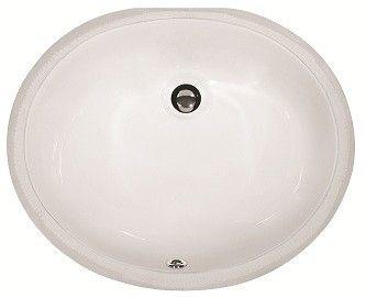 oval undermount porcelain bathroom sink