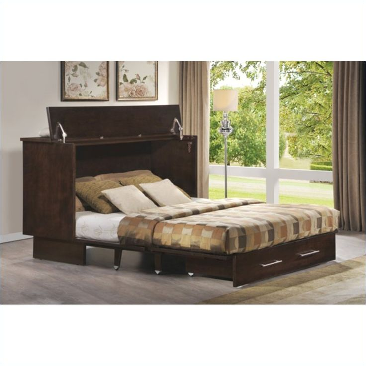 Best Arason Enterprises Creden Zzz Cabinet Bed In Original 640 x 480