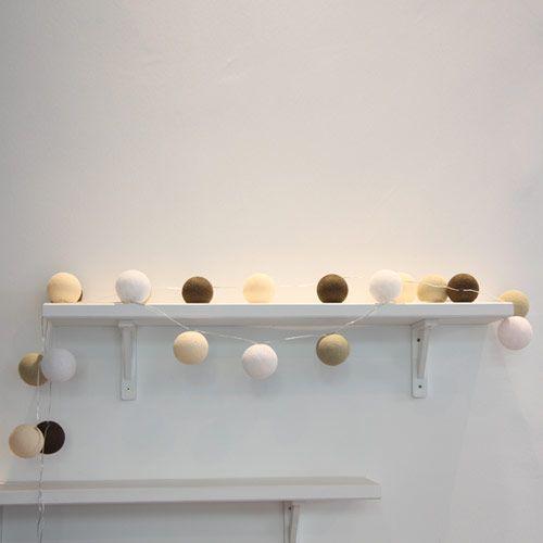 83 best images about guirlande boule on pinterest cousins light string and home. Black Bedroom Furniture Sets. Home Design Ideas