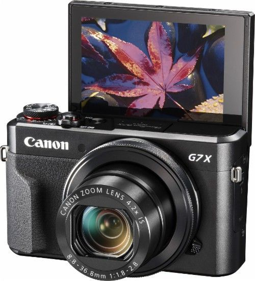 Canon - PowerShot G7 X Mark II 20.1-Megapixel Digital Camera - AlternateView2 Zoom