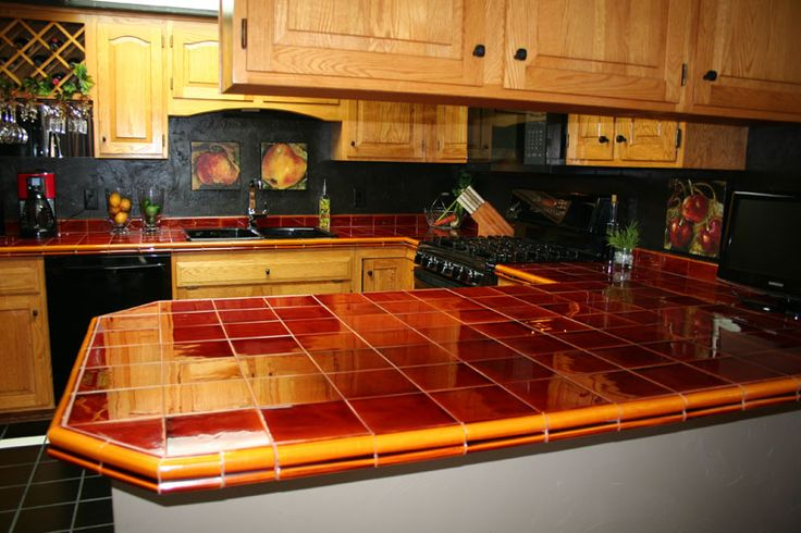 25 Best Images About Tile Countertops On Pinterest
