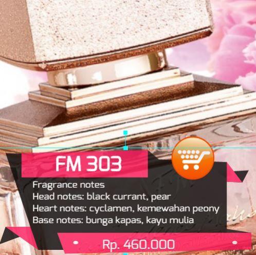 Parfum Wanita FM 303 similar Naomi Campbell – Cat deluxe at night