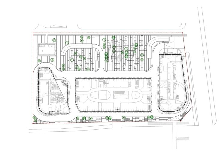 54220bf6c07a80aa17000057_jing-mian-xin-cheng-spark-architects_site_plan.png (2000×1414)