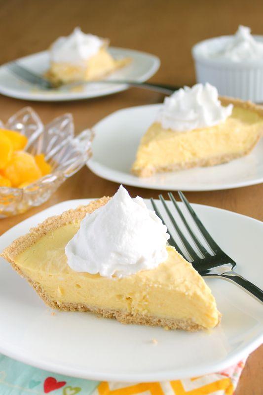 "Frozen Mango ""Cream"" Pie. Completely vegan with almond milk and ..."