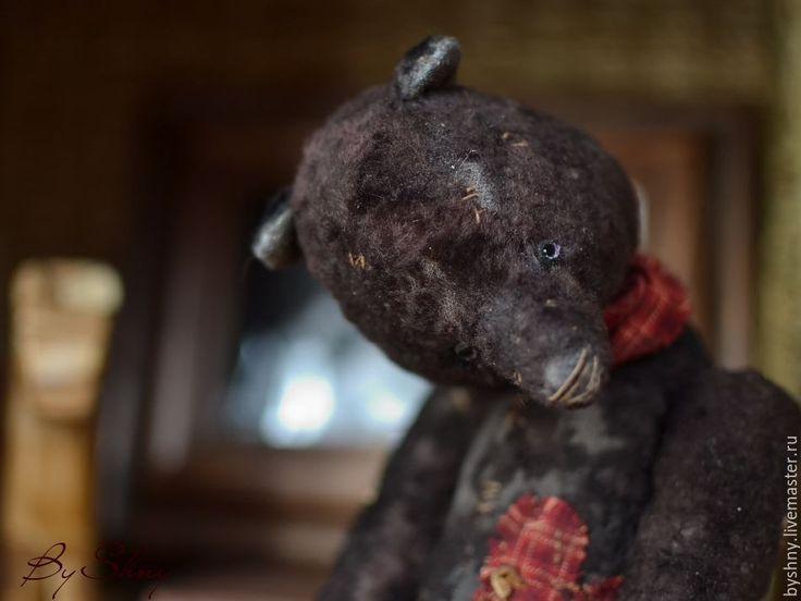 Купить Странный... Старый... - черный, мишка тедди, мишка, Плюшевый мишка, медведь, тедди