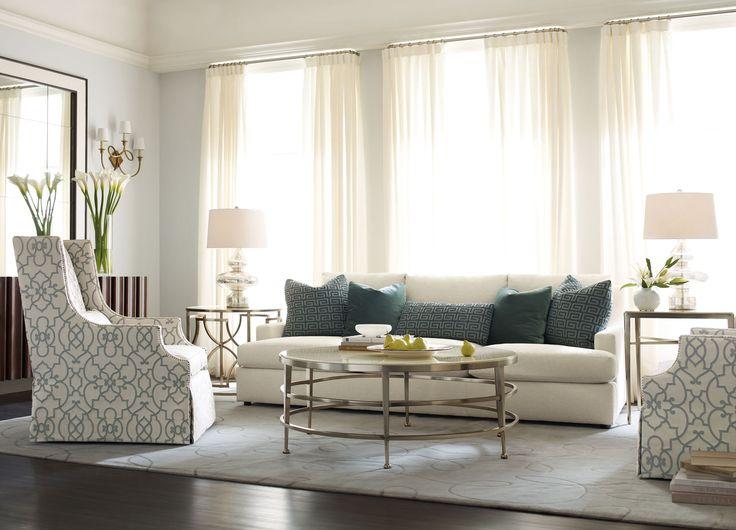 Best 25  Bernhardt sofa ideas on Pinterest | Grey velvet sofa ...