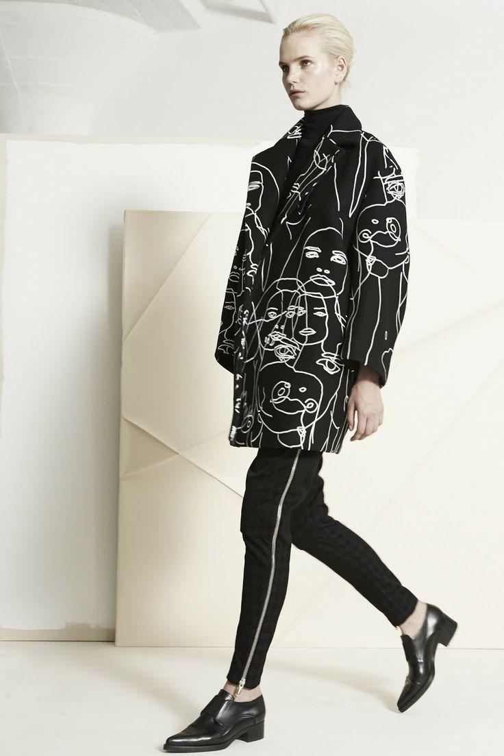 visual optimism; fashion editorials, shows, campaigns & more!: anmari botha, juliana schurig and leona binx walton for stella mccartney pre-...